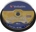 Obrázok pre výrobcu Verbatim DVD+RW(10-Pack)Spindle4x/DLP/4.7GB