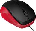 Obrázok pre výrobcu LEDGY Mouse - USB, Silent, black-red