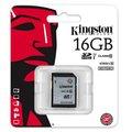 Obrázok pre výrobcu Kingston 16GB SDHC Class10 UHS-I 45MB/s Read Flash Card