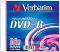 Obrázok pre výrobcu Verbatim DVD-R [ slim jewel case 100 | 4,7GB | 16x ]