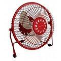 """Obrázok pre výrobcu Esperanza EA149R YUGO stolový ventilátor 6"""", USB, červený"""