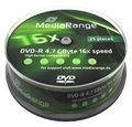 Obrázok pre výrobcu MEDIARANGE DVD-R 4,7GB 16x spindl 10pck/bal
