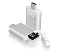 Obrázok pre výrobcu Icy Box External card reader MicroSD/SDHC with USB 3.0 Type-C
