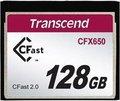 Obrázok pre výrobcu Transcend 128GB CFast 2.0 CFX650 paměťová karta (MLC)