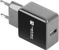 Obrázok pre výrobcu Universální nabíječka Natec 1,2A, 1x USB, černo-šedá