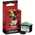 Obrázok pre výrobcu Lexmark originál ink 10NX227E, #27+, color, 160str., Lexmark Z13, Z23, Z33, Z25, Z35