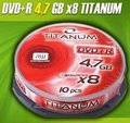 Obrázok pre výrobcu DVD+R Titanum [ cakebox 10 | 4.7GB | 8x ]