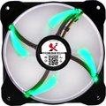Obrázok pre výrobcu X2 Ventilátor - X2.120 NANO Zelená LED