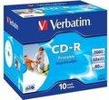 Obrázok pre výrobcu Verbatim CD-R (1ks)Jewel/Printable/DLP/52x/700MB