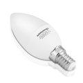 Obrázok pre výrobcu WE LED žárovka SMD2835 C37 E14 3W teplá bílá