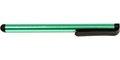 Obrázok pre výrobcu Dotykové pero, kapacitné, kov, tmave zelené, pre iPad a tablet