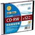 Obrázok pre výrobcu CD-RW ESPERANZA [ slim jewel case 1 | 700MB | 12x ]