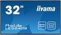 """Obrázok pre výrobcu 32"""" LCD iiyama ProLite LE3240S-B1 -FullHD, IPS, 8ms, 350cd, USB 2.0 media player, RJ45, RS232C,repro"""