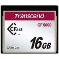 Obrázok pre výrobcu Transcend 16GB CFast 2.0 CFX600 paměťová karta (MLC)