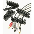 Obrázok pre výrobcu organizér kabelů k PC - spona na 8 kabelů