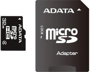 Adata Micro Sdhc Karta 32gb Class 4 Adapter Sdhc Focus Computer