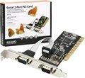 Obrázok pre výrobcu AXAGO PCI adapter 2x sériový port + LP