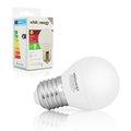 Obrázok pre výrobcu Whitenergy LED žiarovka | 7xSMD2835| B45 | E27 | 3W | 230V | studená bie| mlieko