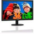"""Obrázok pre výrobcu 23,6"""" LED Philips 243V5LHAB/00, 1920x1080, 10mil:1, 250cd, 5ms, VGA/ DVI/ HDMI, repro,čierna textúra"""