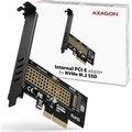 Obrázok pre výrobcu AXAGON PCEM2-N, PCIe x4 - M.2 NVMe M-key slot adaptér