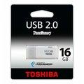 Obrázok pre výrobcu 16GB USB kľúč TOSHIBA - HAYABUSA biely