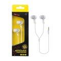 Obrázok pre výrobcu PLUS stereo sluchátka EM108, 3,5 mm jack, bílá
