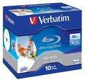 Obrázok pre výrobcu Verbatim BD-R DL [ jewel case 10 | 50GB | 6x| pre tlač ]