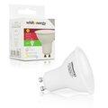 Obrázok pre výrobcu Whitenergy LED žiarovka | GU10 | 7 SMD 2835 | 3W | 230V| studená biela