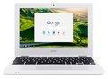 "Obrázok pre výrobcu Acer Chromebook 11 Celeron N2840/2GB+N/eMMC 32GB/HD Graphics/11.6"" HD ComfyView LCD/Google Chrome/Whit"