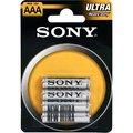 Obrázok pre výrobcu SONY Baterie tužkové R03NUB4A, 4ks R03/AAA ULTRA