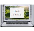 """Obrázok pre výrobcu ACER Chromebook14 CB3-431-C1RS Intel-N3160(2.24GHz) 4GB 32GB SSD 14"""" FHD IPS int.graf. CHROME OS strieborná"""
