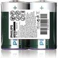 Obrázok pre výrobcu Philips baterie D LongLife zinkochloridová - 2ks