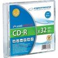Obrázok pre výrobcu mini CD-R Esperanza [ slim jewel case 1 | 195MB | 32x ]