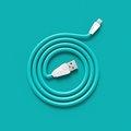 Obrázok pre výrobcu Datový kabel ALIEN, micro USB, barva bílo-modrá