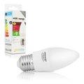 Obrázok pre výrobcu WE LED žárovka SMD2835 C37 E27 3W teplá bílá