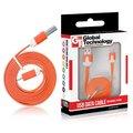 Obrázok pre výrobcu GT kábel USB/micro USB 1m oranžový