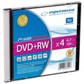 Obrázok pre výrobcu DVD+RW ESPERANZA [ slim jewel case 1 | 4.7GB | 4x ]