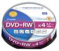 Obrázok pre výrobcu DVD+RW ESPERANZA [ cakebox 10   4.7GB   4x ]