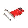 Obrázok pre výrobcu i-tec PCI-E 2x M.2 Card (PCI-E/SATA) + LP