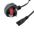 Obrázok pre výrobcu 4World Napájecí kabel k NTB 2žilový 1.5m Black UK