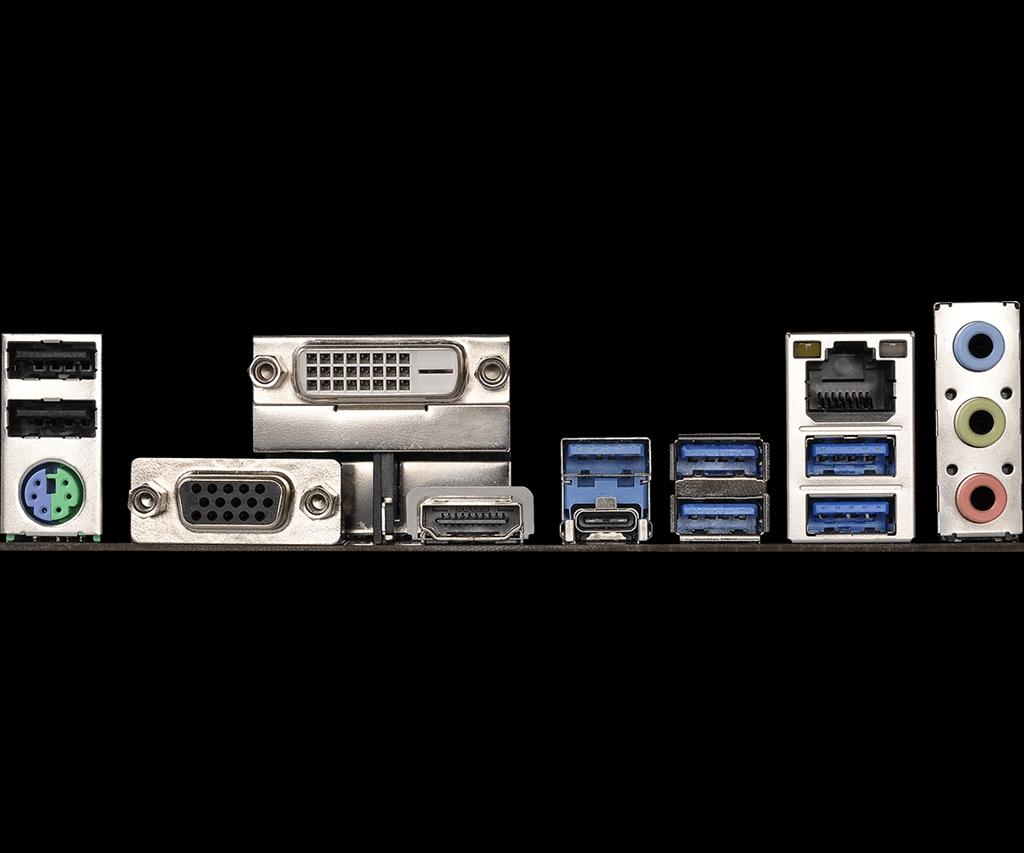 ASRock AB350 Pro4, AM4, DDR4 2667, 6 SATA3, 8 USB 3 0, HDMI, DVI-D