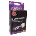 Obrázok pre výrobcu UPrint kompatibil ink s LC-980Y, yellow, 12ml, B-980Y, pre Brother DCP-145C, 165C