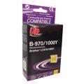 Obrázok pre výrobcu UPrint kompatibil ink s LC-1000Y, yellow, 10ml, B-970Y, pre Brother DCP-330C, 540CN, 130C, MFC-240C, 440CN