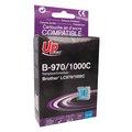 Obrázok pre výrobcu UPrint kompatibil ink s LC-1000C, cyan, 10ml, B-970C, pre Brother DCP-330C, 540CN, 130C, MFC-240C, 440CN