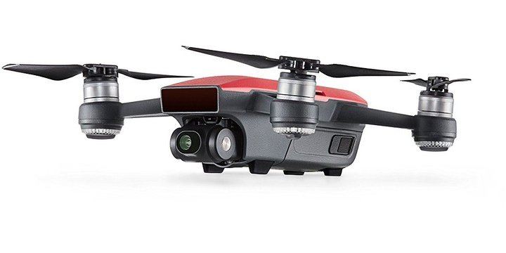f390fae3b DJI kvadrokoptéra - dron, Spark Fly More Combo, Full HD kamera, červený