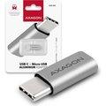 Obrázok pre výrobcu AXAGON RUCM-MFA, USB Type-C Male > Micro USB Female ALU redukce