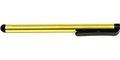 Obrázok pre výrobcu Dotykové pero, kapacitné, kov, žlté, pre iPad a tablet
