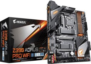 Obrázok pre výrobcu GIGABYTE MB Sc LGA1151 Z390 AORUS PRO WIFI 1.0 M/B, Intel Z390, 4xDDR4, VGA, WIFI