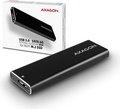 Obrázok pre výrobcu AXAGON EEM2-U3, USB3.0 - SATA 6G, M.2 SATA SSD hliníkový box, délka až 2280